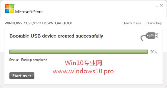 【U盘装系统Win10】Windows 7 USB/DVD download tool制作Win10 U盘系统安装盘
